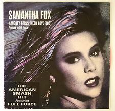 "12"" Maxi - Samantha Fox - Naughty Girls (Need Love Too) - B2185 - rosa Vinyl"