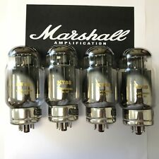KT88 ORIGINAL MARSHALL SPARES TAD VALVE/TUBE MATCHED QUAD (4PCS)