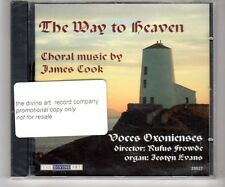 (HJ835) The Way To Heaven, Choral Music by James Cook - 2004 Sealed CD