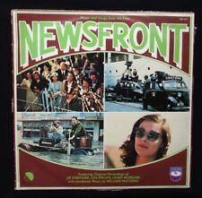 NEWSFRONT 1978 Orig Aussie movie soundtrack vinyl LP Wendy Hughes Bryan Brown