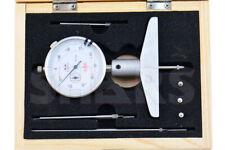 0 22 X 001 Dial Indicator Depth Gage Set Hardened 6