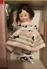 "Madame Alexander 8"" PARTY DRESS WENDY ROBE DE FETE Brunette"