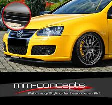 CUP Spoilerlippe SCHWARZ für VW Golf 5 GTI GT 1K Variant Frontspoiler Schwert IN
