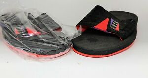 NOS Nike Aqua Gear Aqua Strap Sandals  Black Slides Size 6 with box