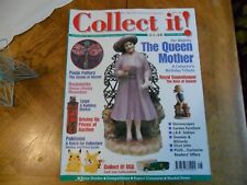 COLLECT IT MAG #38 QUEEN MOTHER POOLE POTTERY BOOKMARKS POKEMON ROYAL COPENHAGEN