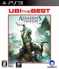 Used PS3 Assassin's Creed III Best SONY PLAYSTATION 3 JAPAN JAPANESE IMPORT
