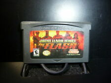 Justice League Heroes: The Flash Gameboy Advance Authentic Cartridge Only TESTED