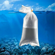 50Pcs Aquarium Breathing Bags Flat bottom Bags For Transport Fish Shrimp Us