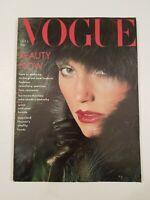 Vogue Magazine October 1st 1975 Vintage Vogue Magazine