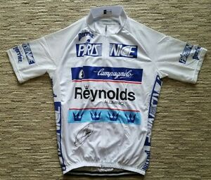 Team Reynolds Aluminio Paris Nice Cycling Jersey - Signed by Miguel Indurain