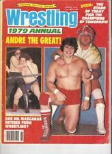 Mascaras Wrestling 1979 Magazine WWF NWA AWA Andre Bravo Rhodes Steamboat Flair