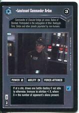 Star Wars CCG Dagobah Limited BB Lieutenant Commander Ardan