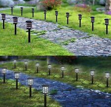 Solar Pathway Lights Outdoor LED Solar Powered Garden Lights - 12 pack