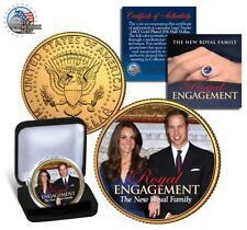 COFFRET MEDAILLE COLLECTOR DOLLAR KATE ET WILLIAM