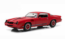 Greenlight 1979 Chevy Camaro Z28 - Red with Black Stripes - Hardtop 1/18