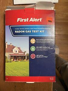 First Alert RD1 Radon Gas Test Kit - No Lab Fees, EPA NRPP Certified, NEW