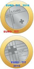 3 €   SLOVENIE    2016            PIECE  DE  3   EURO   2016     /    disponible