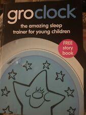 The Gro Company GroClock Sleep Trainer Kid's Bedtime Story Book Alarm Clock 2y+