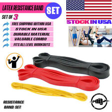 Pull Up Assist Resistance Loop Bands For Mobility Stretch Powerlifting Crossfit