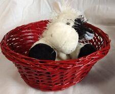 Ganz Webkinz Cow  Plush HM003 Black and White No W Patch
