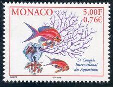 TIMBRE DE MONACO N° 2271 ** FAUNE / POISSONS CORAUX