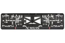 AC Milan 2xECHTE 3D-Effekt Kennzeichenhalter, Nummernschildhalter