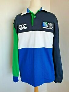 BNWT Canterbury Rugby World Cup 2011 New Zealand Long Sleeve Shirt Size Small