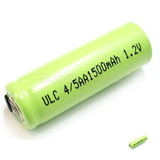 2 x 4/5AA 4/5 AA 1500mAh 1.2V NiMH Ni-MH Rechargeable Battery with Tabs Green