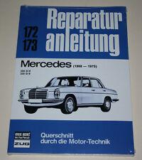 Reparaturanleitung Mercedes /8 W115 200 D + 220 D Diesel, Bauj. 1968-1975