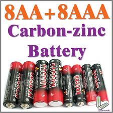 8 AA 8 AAA zinc-carbono Baterías uso individual R03P UM4 1212