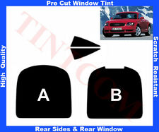 Pre Cut Window Tint Audi TT-Coupe 1998-2006 Rear Window & Rear Sides Any Shade