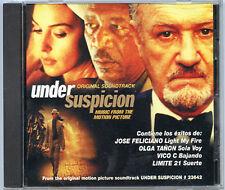UNDER SUSPICION CD Jose Feliciano Olga Tanon VICO C Limite 21  FOUR TRACKS