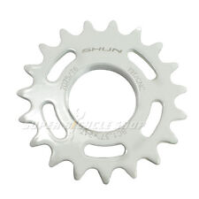 Taiwan Made 19T Tooth 7075 Alloy Fixie Fixed Gear Track Cog, White