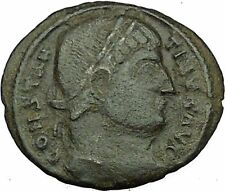 Constantine I The Great Ancient Roman Coin Military camp or bivouac gate i35456