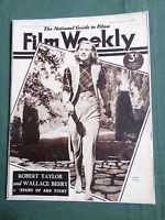 FILM WEEKLY- UK MOVIE MAGAZINE - GINGER ROGERS - JOHN PAYNE - 26 NOV 1938