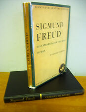 SIGMUND FREUD His Exploration Of The Mind Of Man by Gregory Zilboorg, 1951 in DJ