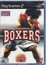 VICTORIOUS BOXERS for Playstation 2 PS2 - NEW in seal