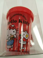 Sanrio Hello Kitty Cup Paper Clip Holder With Magnet Dispenser