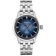 Seiko Presage SRPB41 Automatic Chronograph 40.5mm Men's Wristwatch - Silver/Blue