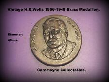 De colección técnica pozos. 1866-1946 Latón Medallón.AH6077.
