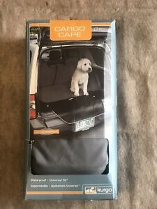 Kurgo 1730 Waterproof Car and SUV Cargo Cape Liner/Cover for Dogs, Charcoal/Gray