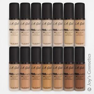 """1 LA GIRL Pro Matte Foundation - GLM """"Pick Your 1 Color"""" *Joy's cosmetics*"""