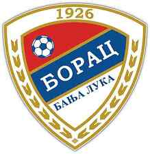 "FK Borac Banja Luka FC Bosnia Football Soccer Car Bumper Sticker Decal 4""X5"""