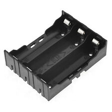 1x Battery Holder Case DIY Lithium Battery Box with Pin  3 * 18650(3.7-11.1V)