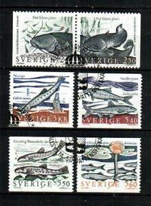 SWEDEN Scott's 1867-2 Fish F/VF used ( 1991 ) #2