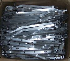 BULK LOT OF 100  ALLOY  WINDOW STAYS WITH PINS  *** FOR FLUSH FRAMES ONLY ***