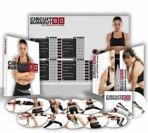 Circuit Burnout 90 Workout Program. 11 DVD's, Training Calendar, Guide, and Nutr