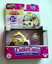Shopkins Cutie Cars Egg cart GO-CART QT3-22 Die Cast Body &1 Mini Shopkin