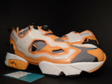REEBOK INSTAPUMP PUMP FURY OG MAJOR DC OXYGEN MASK GREY ORANGE WHITE BLACK DS 13