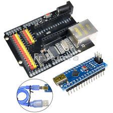 ENC28J60 Ethernet Shield V2.0 Network Module + Arduino CH340G NANO V3.0 Board